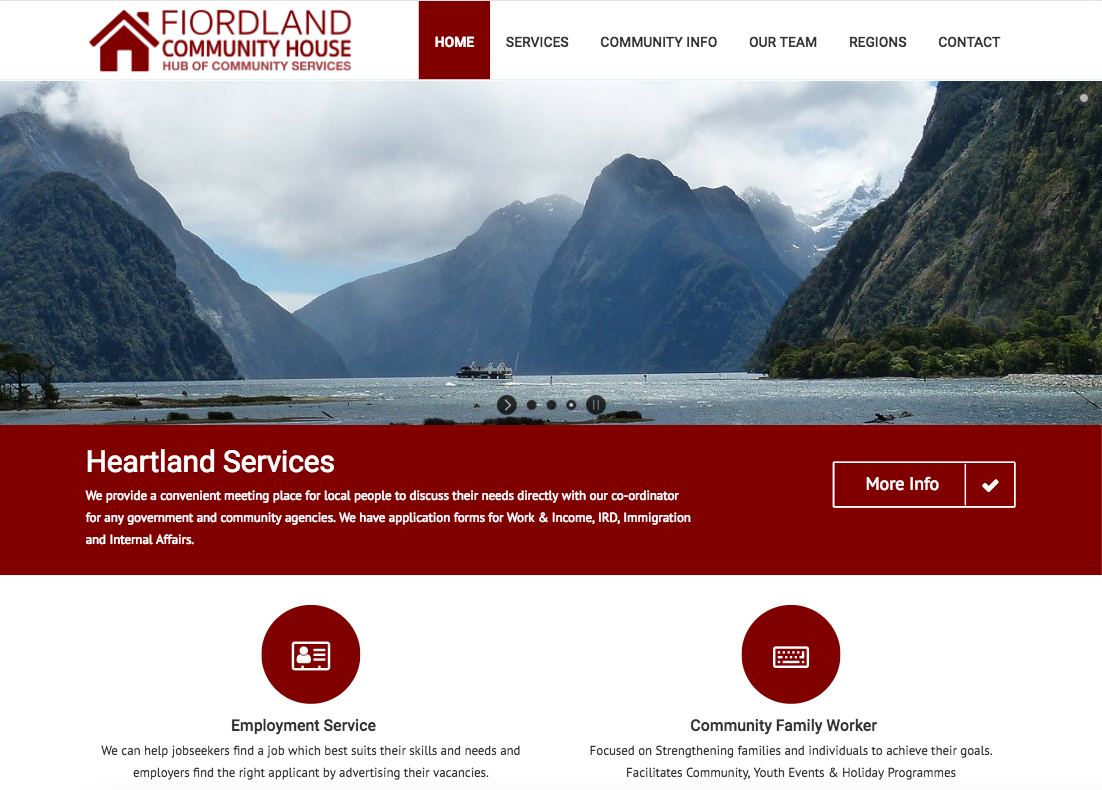 Fiordland Community House