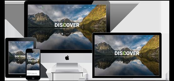 Doubtful Sound Kayak website screenshots